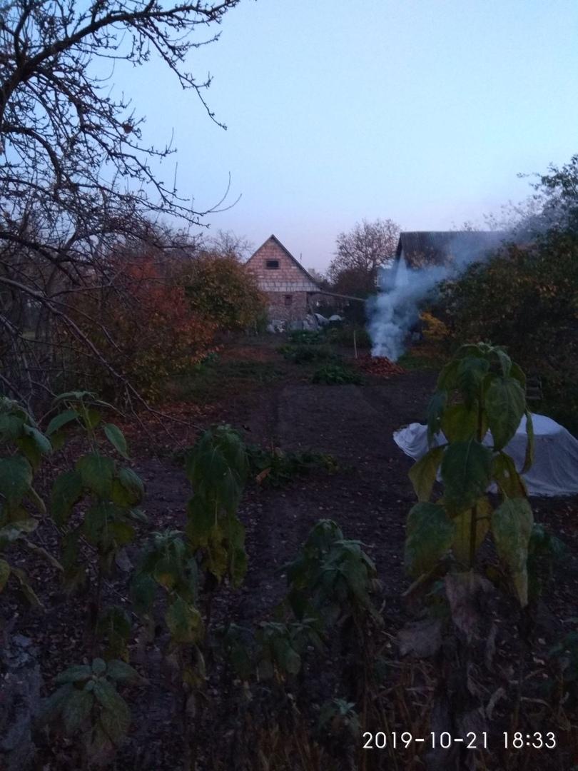 """Брест к вечеру романтично """"накрывает"""" смогом. Опять костры виноваты?"""