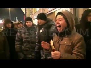 Вкратце о митинге в Москве