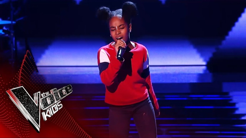 Lil Shan Shan Performs 'Supersonic' Blind Auditions The Voice Kids UK 2019