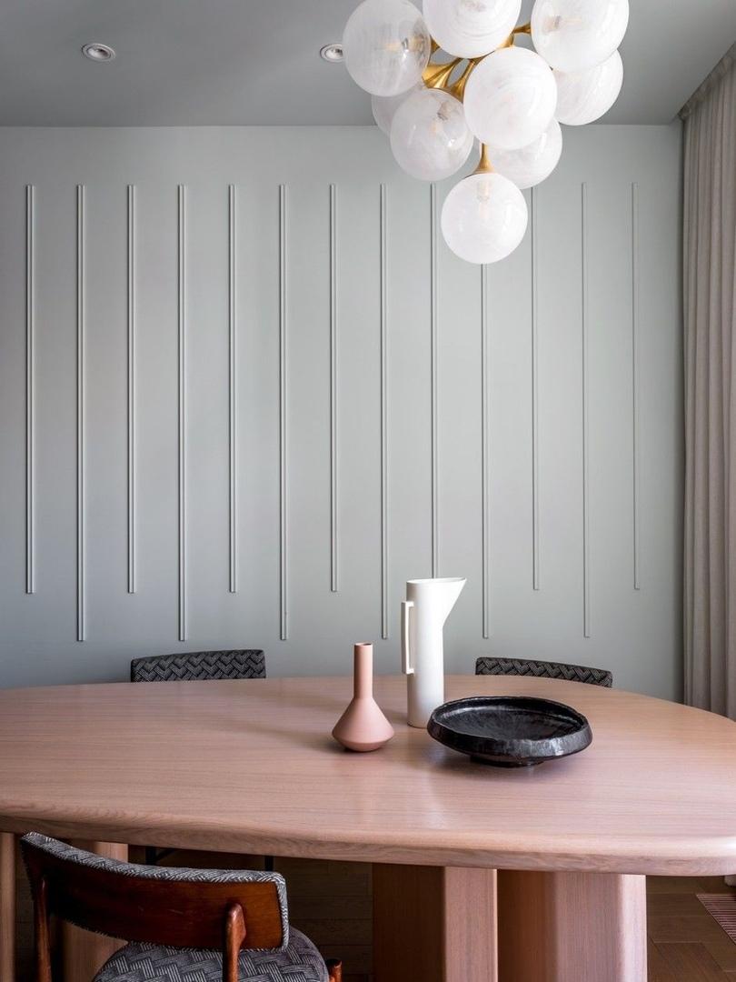 Воздушные замки: светлая квартира в новом доме на Пресне от Марии Микены