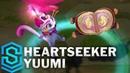 Heartseeker Yuumi Skin Spotlight - Pre-Release - League of Legends