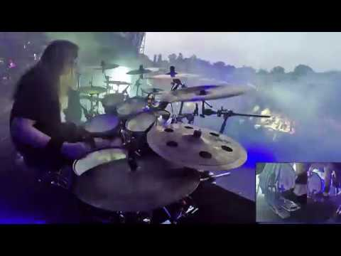 DYING FETUS@Praise the Lord Trey Williams Live at Brutal Assault 2018 Drum Cam