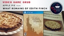 Making Apple Pie from What Remains from Edith Finch Video Game Grub