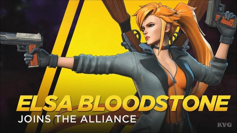 Marvel Ultimate Alliance 3 The Black Order Elsa Bloodstone Gameplay HD 1080p60FPS