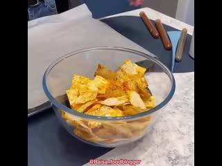Домашние чипсы за 5 мин