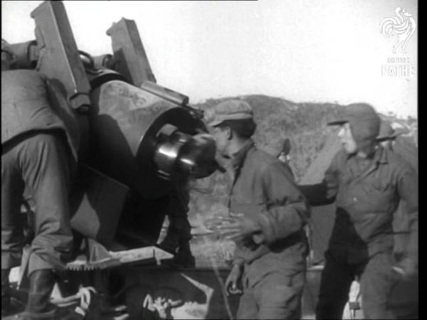 Korea - U.N. Forces Pound Reds AKA Korean Offensive (1951)