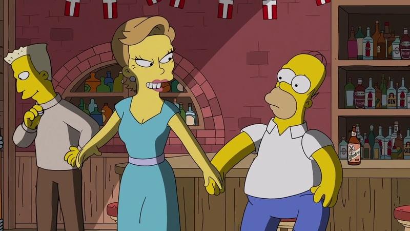 The Simpsons. Sidse Babett Knudsen.