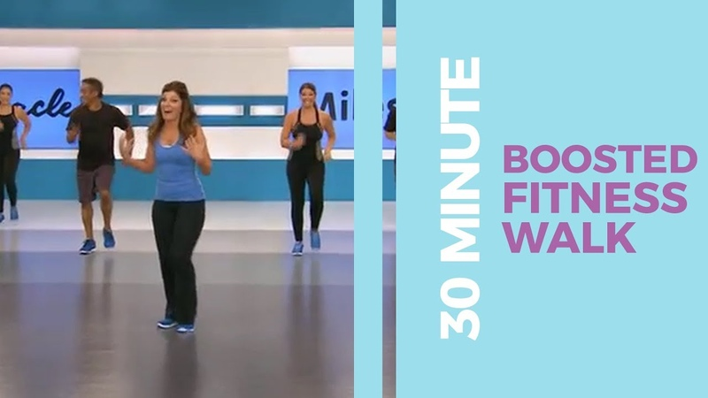 30 Minute Boosted Fitness Walk Walk at Home