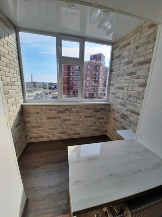 отделка балконов дск фото замеряем размер