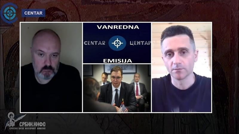 Dejan Berić: Vučić progoni srpske ratne junake !   U CENTAR - Vanredna emisija