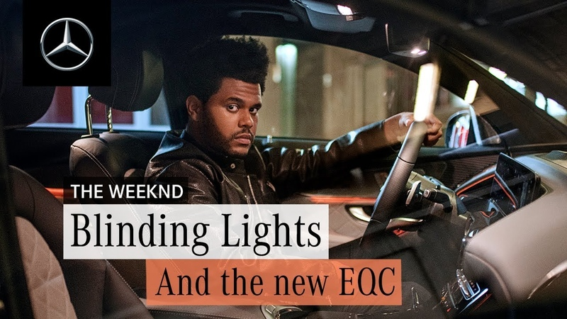 """Enjoy electric. With the all-new EQC x The Weeknd """"Blinding Lights"""""""
