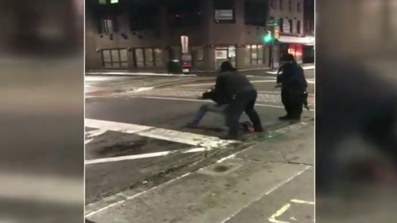 Man catches on fire after being tased by security guard in Philly