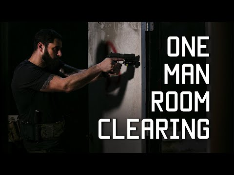 One Man Room Clearing Tactical Rifleman