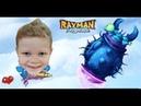 Rayman legends ГЛАВАРЬ БОЛЬШОЙ ПОДВОДНЫЙ ЖУК THE LEADER IS A LARGE UNDERWATER BEETLE