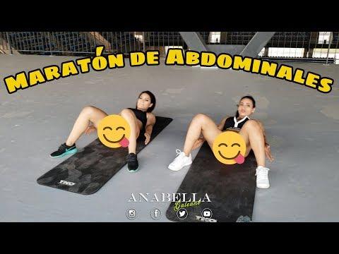 Maraton Abdominales Anabella Galeano
