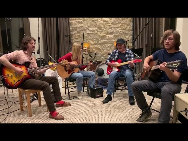 John Fogerty and Family jam to Down on the Corner while quarantined at home