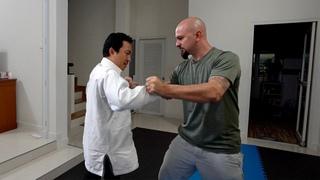 Applying Taiji Jin while grappling - Demonstrated by Liang De hua