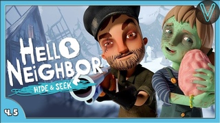 Брат охотится за сестрой. Акт 4 / Эп. 5 / Hello Neighbor: Hide and Seek