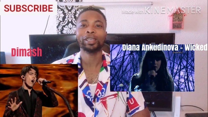 S MIKE Reacts to Diana Ankudinova Wicked Game Диана Анкудинова x Dimash Performs S O S