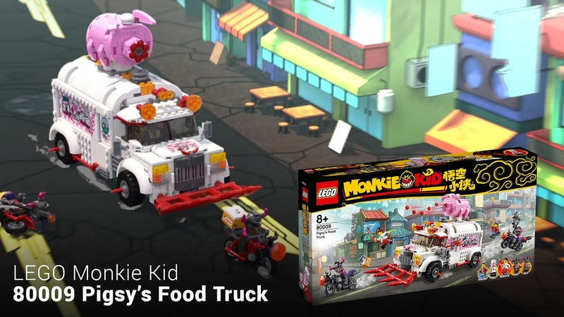 INTRO to 80009 Pigsy's Food Truck (LEGO Monkie Kid)