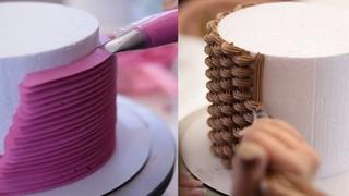 Невероятно красивые техники украшения тортов. Incredibly beautiful cake decorating techniques