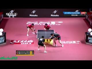 Fan Zhendong/Xu Xin vs Lin Gaoyuan/Liang Jingkun | MD-FINAL | 2019 Asian Championships