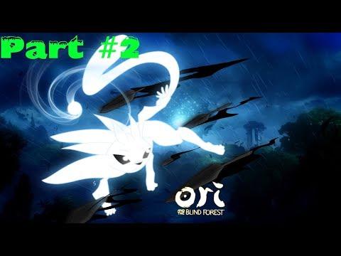 Прохождение Ori and The Blind Forest Definitive Edition 02 Белый зверек