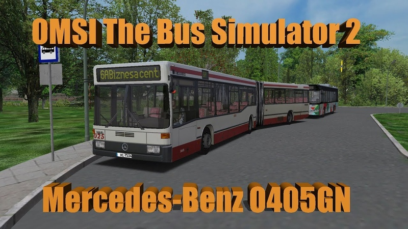OMSI 2 Map Liepaja V5 Final Line 6A Mercedes Benz O405NG