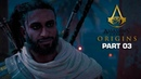 ASSASSIN'S CREED ORIGINS Walkthrough Gameplay Part 3 Ambush In The Temple AC Origins