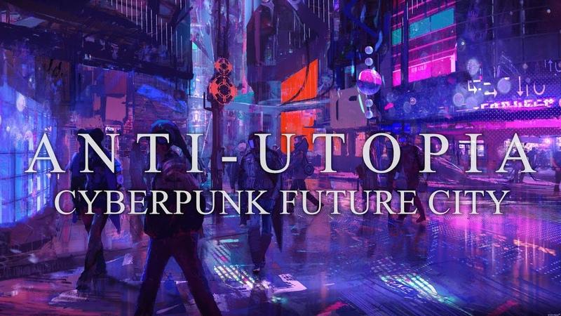 Anti Utopia Animated Short Film Cyberpunk 3D Futuristic Animation HD1080P