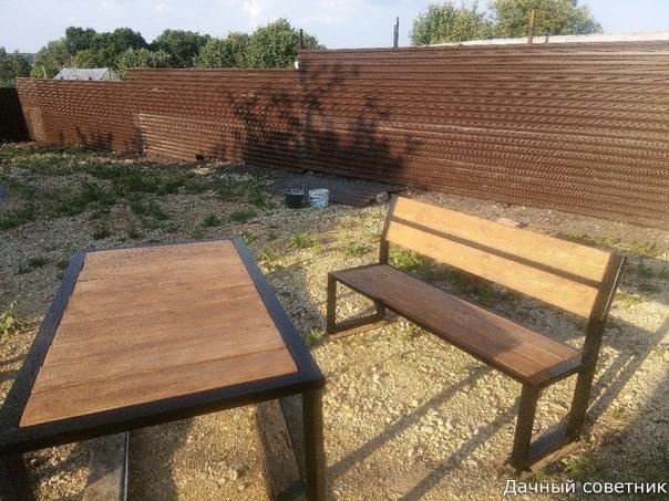 Дачная мебель своими руками и бюджетом в 5 тысяч