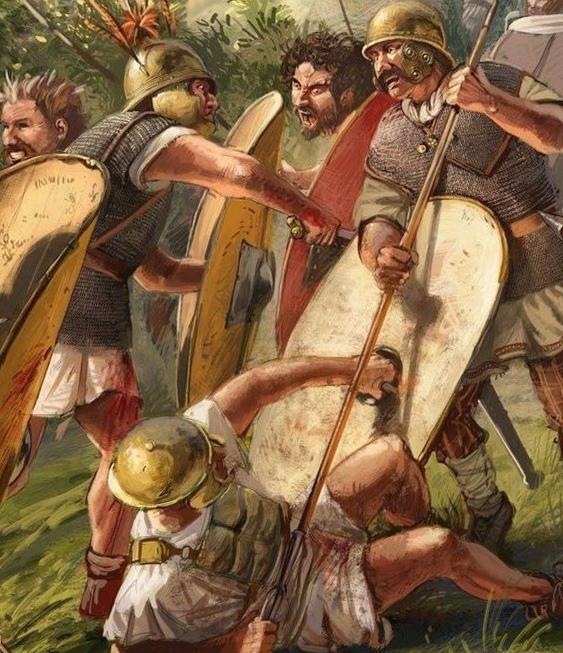 Римляне и галлы