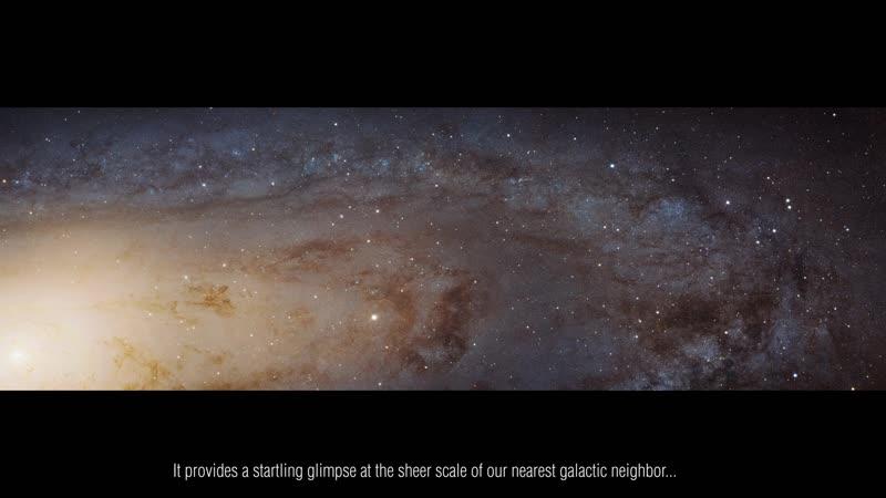 Галактика Андромеды в высоком разрешении