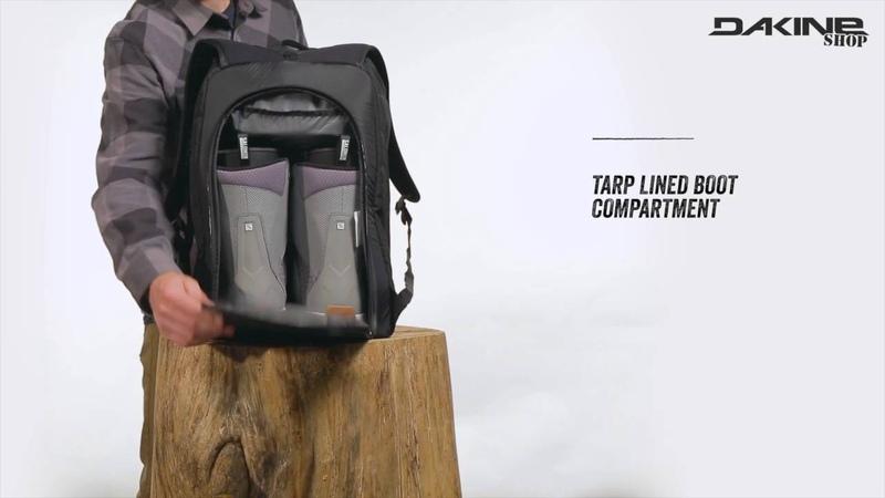 Dakine Boot Pack 50L Geräumiger Rucksack für Ski Schuhe Snowboard Boots Helm