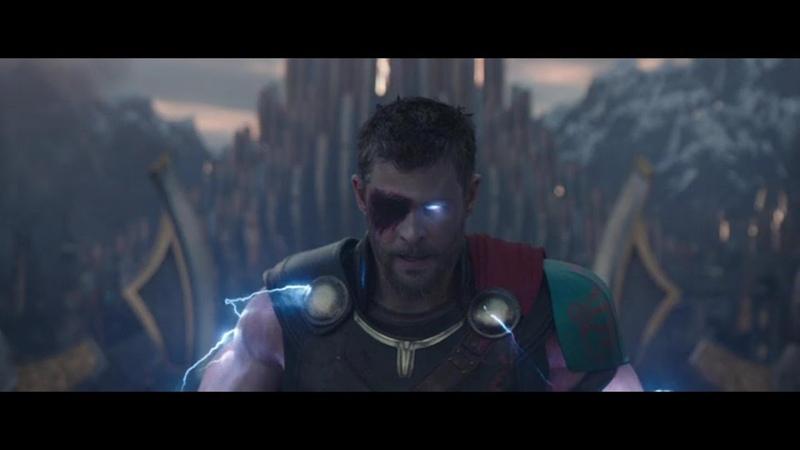 Тор Рагнарёк Тор получает силу Одина и атакует армию Хелы FULL HD
