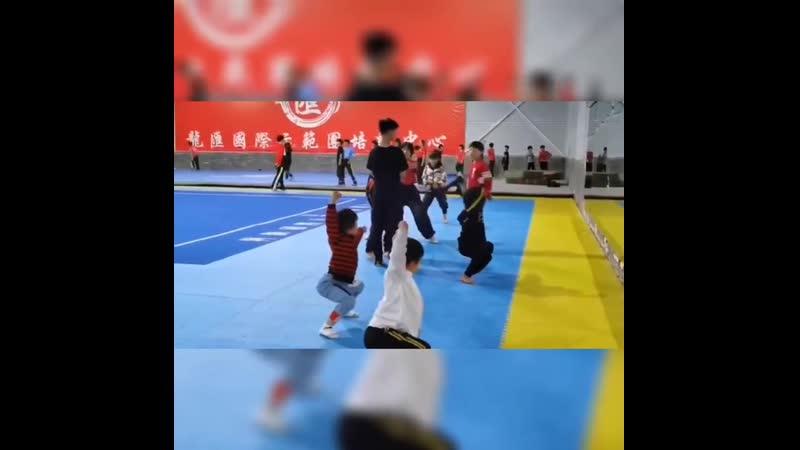 УШУ в китайской школе боевых искусств
