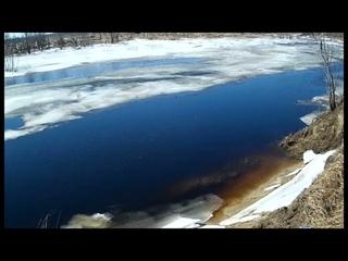 последняя рыбалка со льда перед весенней охотой 23 04 21