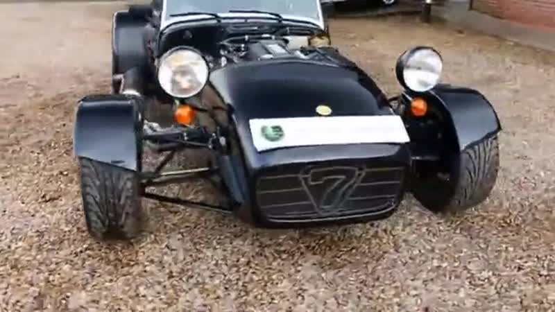 Caterham CSR 260 2 3L Ford Duratec in Metallic Black London UK