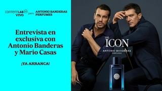 Charla en exclusiva con Antonio Banderas y Mario Casas