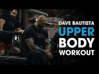 Dave Bautista Full Upper Body Workout