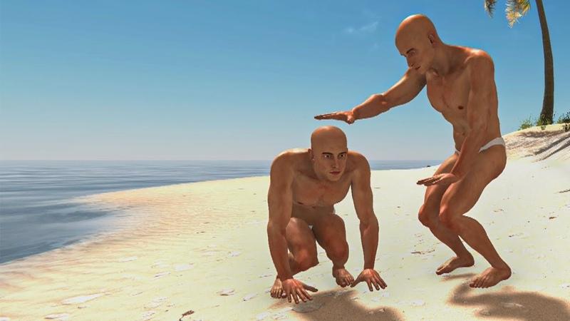 3 идиота на необитаемом острове Что могло пойти не так Hand Simulator Survival