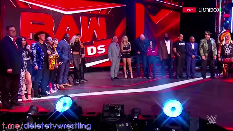 Возвращение Голдберга на Raw в 2021 году в русской озвучке