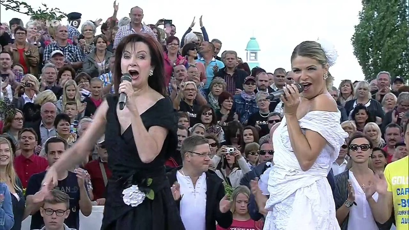 Baccara Yes Sir I Can Boogie ZDF Fernsehgarten ZDF HD 2014 aug24 nawaf نواف