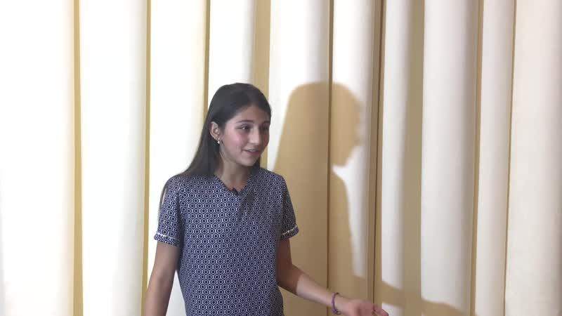 Мангаева Лариса | актерская визитка | визитка актера | кастинг | дети актеры