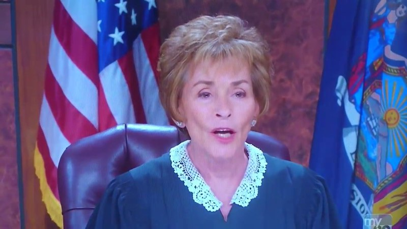 Judge Judy I'm Going To Explain Why You're An Idiot