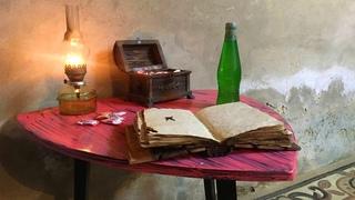 НЕОЖИДАННЫЙ РЕЗУЛЬТАТ   Необычная реставрация стола своими руками