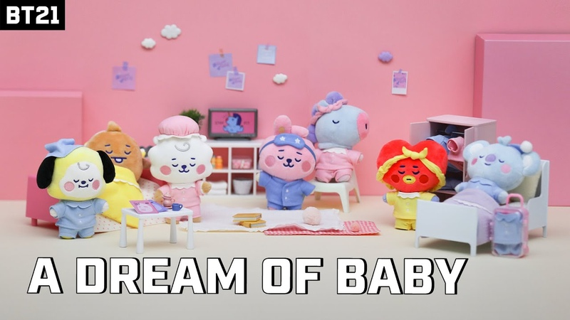 BT21 'A Dream of Baby' Doll series