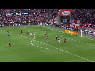 Обзор 34 тура  чемпионат Голландии 2018-2019