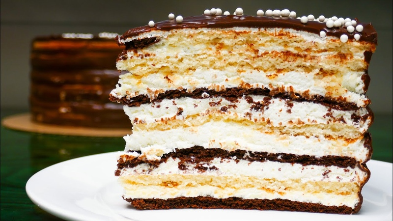ПОТРЯСАЮЩЕ ВКУСНЫЙ ТОРТ МИШКА НА СЕВЕРЕ Мягкий Нежный торт Рецепт OSON RETSEPTLAR