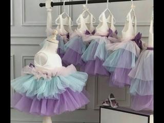 Как Сшить Платье, Детское Платье с валанами МК ч.2 / SEW TULLE BEAUTIFUL BABY DRESS DIY p. 2